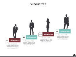 Silhouettes Formal Ppt Powerpoint Presentation Icon Demonstration