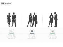 Silhouettes M And A Synergy Ppt Powerpoint Presentation Ideas Examples