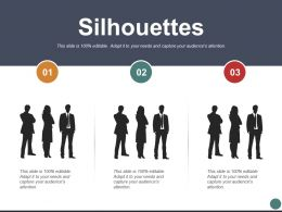 Silhouettes Marketing Strategy Ppt Powerpoint Presentation File Infographics