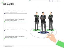 Silhouettes Mckinsey 7s Strategic Framework Project Management Ppt Download