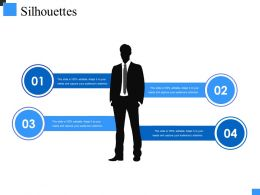 Silhouettes Powerpoint Shapes