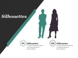 Silhouettes Powerpoint Slide Design Ideas