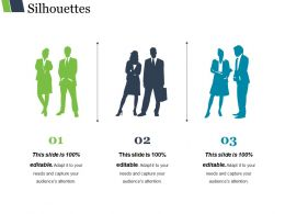 Silhouettes Powerpoint Slide Designs