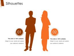 Silhouettes Powerpoint Slide Inspiration