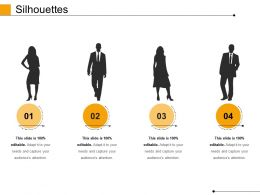 Silhouettes Powerpoint Slide Templates Download
