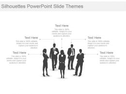 Silhouettes Powerpoint Slide Themes
