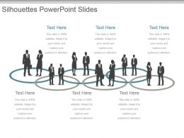 Silhouettes Powerpoint Slides