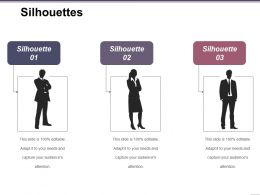 Silhouettes Powerpoint Slides Templates