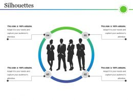 Silhouettes PowerPoint Topics