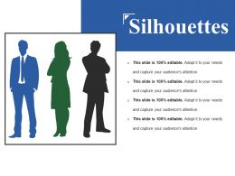 Silhouettes Ppt Background Images