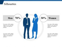 Silhouettes Ppt Example File