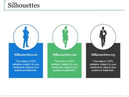 Silhouettes Ppt Guidelines