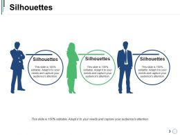 Silhouettes Ppt Images Gallery