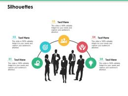 Silhouettes Ppt Infographic Template Example Introduction