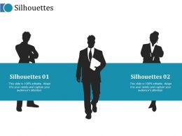 Silhouettes Ppt Outline Icon