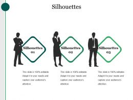 Silhouettes Ppt Presentation Examples