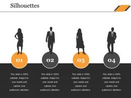 Silhouettes Ppt Professional