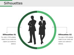Silhouettes Ppt Sample File
