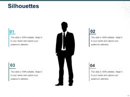 Silhouettes Ppt Sample Presentations