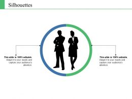 Silhouettes Ppt Show Themes