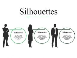 Silhouettes Ppt Slides