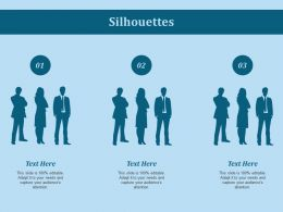 Silhouettes Ppt Slides Templates