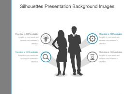 Silhouettes Presentation Background Images