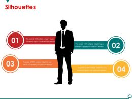 Silhouettes Presentation Powerpoint Template 1
