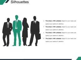 Silhouettes Sample Of Ppt Presentation Template 2