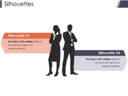 Silhouettes Sample Ppt Files