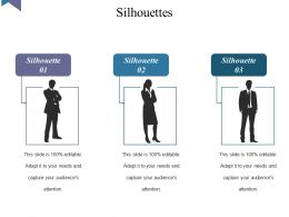 Silhouettes Sample Presentation Ppt