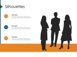 Silhouettes Strategic Management Value Chain Analysis Ppt Diagrams