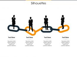 Silhouettes Supply Chain Inventory Optimization Ppt Icon Format