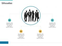 Silhouettes Supply Chain Management And Procurement Ppt Rules