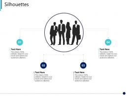 Silhouettes Synergy In Business Ppt Information