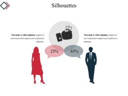 Silhouettes Template 3 Example Ppt Presentation