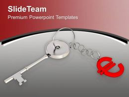 silver_key_attached_with_euro_sign_powerpoint_templates_ppt_themes_and_graphics_0213_Slide01