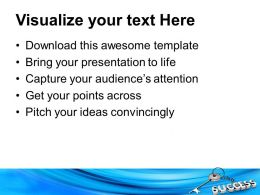 Silver Key With Success On Chain Business Powerpoint Templates Ppt Themes And Graphics 0113
