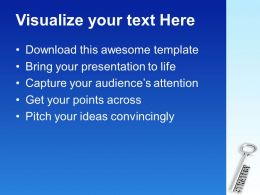 Silver Key With Word Strategy Powerpoint Templates Ppt Themes And Graphics 0113