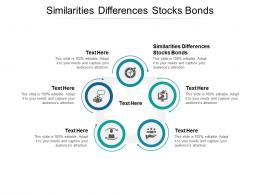 Similarities Differences Stocks Bonds Ppt Powerpoint Presentation File Design Templates Cpb