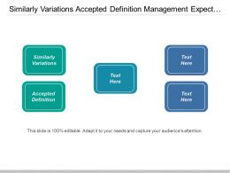 Similarly Variations Accepted Definition Management Expect Leveraging Analytics