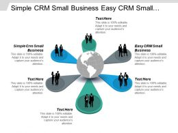 Simple Crm Small Business Easy Crm Small Business Business Crm Cpb
