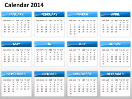 simple_elegant_complete_2014_calender_template_and_powerpoint_slide_for_planning_Slide01