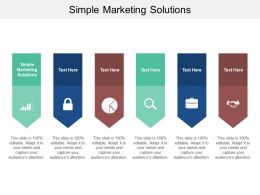 Simple Marketing Solutions Ppt Powerpoint Presentation Summary Inspiration Cpb
