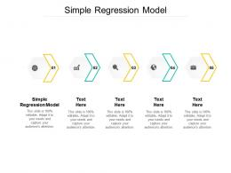 Simple Regression Model Ppt Powerpoint Presentation Gallery Sample Cpb