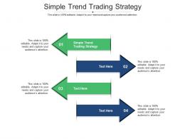 Simple Trend Trading Strategy Ppt Powerpoint Presentation Styles Ideas Cpb