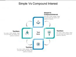 Simple Vs Compound Interest Ppt Powerpoint Presentation Professional Slide Download Cpb