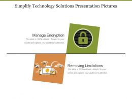 Simplify Technology Solutions Presentation Pictures