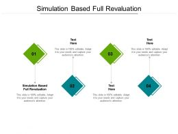 Simulation Based Full Revaluation Ppt Powerpoint Presentation Layouts Cpb
