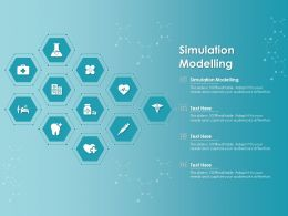 Simulation Modelling Ppt Powerpoint Presentation Gallery Shapes